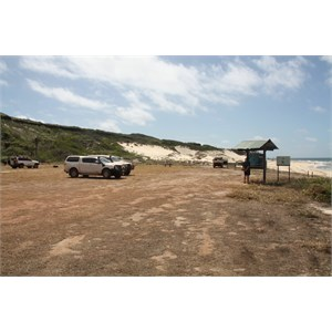 Captian Billy Landing camp area