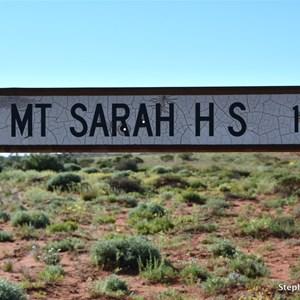 Mt Sarah Turn Off - Hamilton Tk