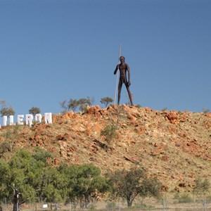 Aboriginal warrior