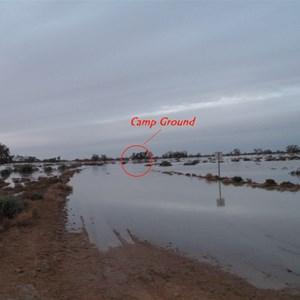 Camp Ground under flood