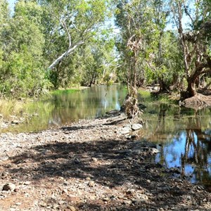 Waterhole on Humbert Track