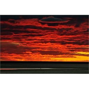 Sunset Halligan Bay
