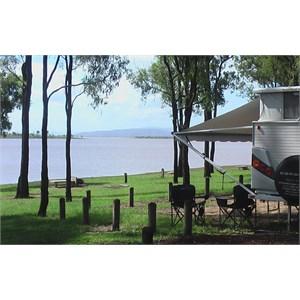 Our lake side van site