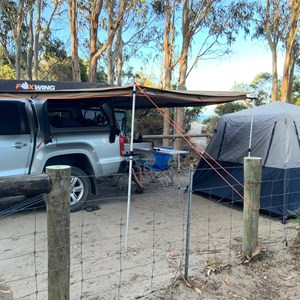 Lake Gairdner Camp