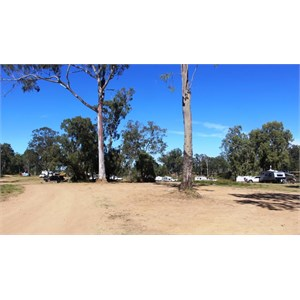 East side camping area