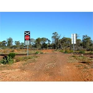 Goog's Track Trans Austraian Railway