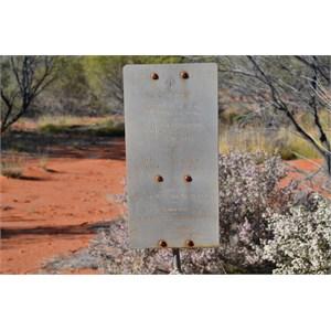 Anne Beadell Highway - WA - SA Border