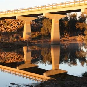 Galena Bridge 2 on sunrise