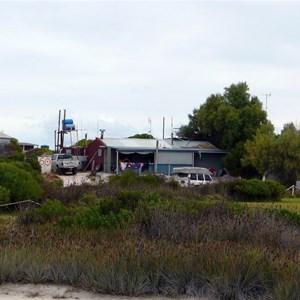 Wedge Island settlement