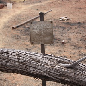 Camp Beadell after fire