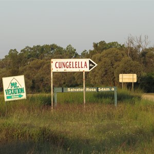 Junction signposts