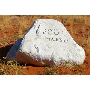 200 Mile Stone