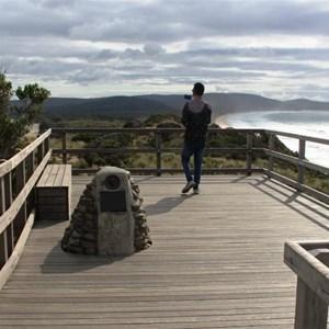 The summit viewing platform