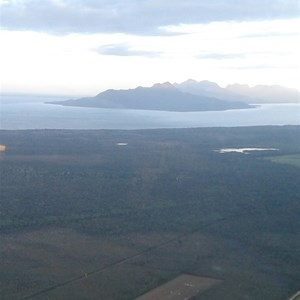 This is the closest runway to Hinchinbrook Island