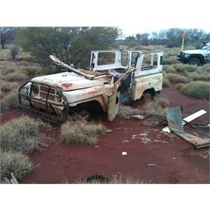 Gary Hwy Wreck of Vehicle