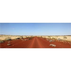 Panoramic view of Gary Junction Road
