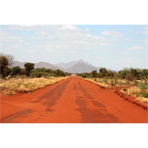 Gary Junction Road near Papunya