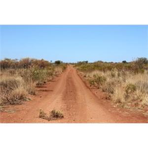 Continuing on Talawana Track