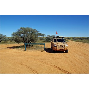Simpson Desert NP East Boundary