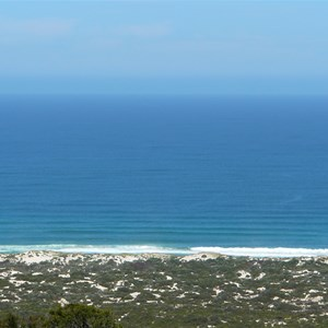 View of Callcup Dunes
