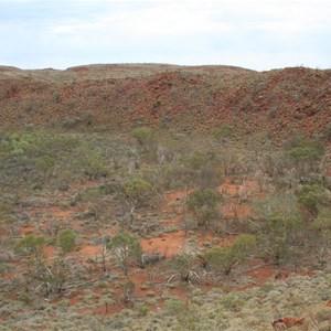 Hickman Crater