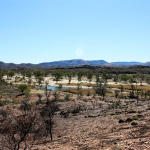 View of Finke River from Mt Sonder Lookout