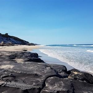 Black Rocks beach
