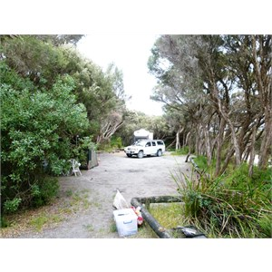 3 Mile Bend camping area