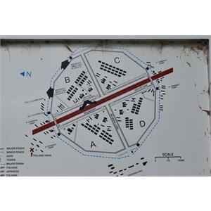 No 12 POW Camp plan