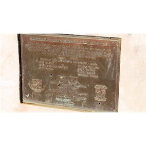 Commemorative plaque for the 1844-45 Leichhardt expedition