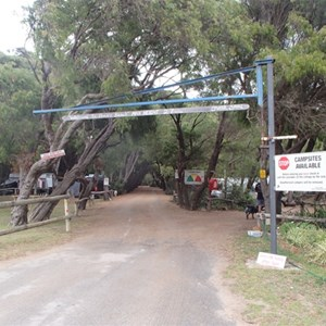 Parrys Beach Campground
