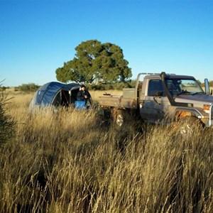 Gary Highway Campsite 2007