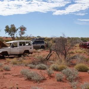 Vehicles in situ - July 2009