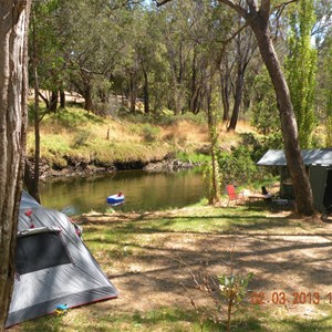 Tent Camping on the river