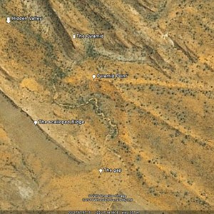 Pyramid Point - Google Earth Overview