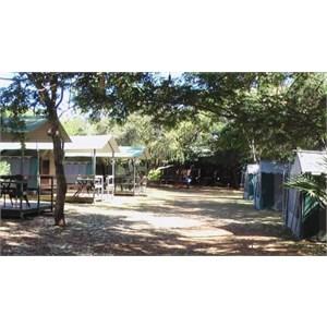 Huts and Tents at Adels Grove