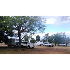 Parket under a shady tree at Duaringa