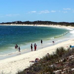Sandy Cape beach looking north.