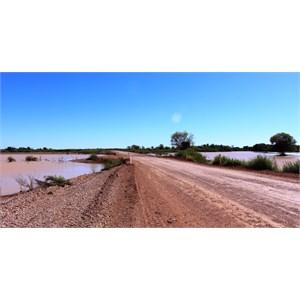 Cutta Burra Crossing at Eyre Creek
