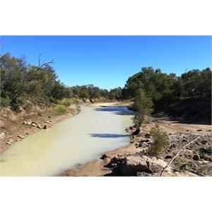 Waterhole in the Georgina River