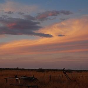 Sunset at Giralia