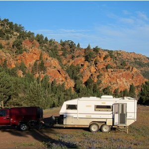 Camping at Warren Gorge