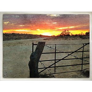 Gate to the outback