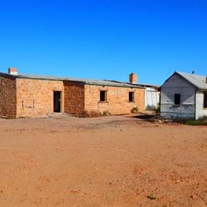 Rear of Beresford Siding Ruins