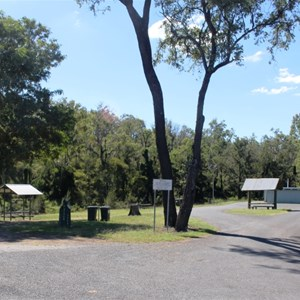 Fat Hen Creek parking and camping area