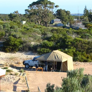 Baird Bay camping area