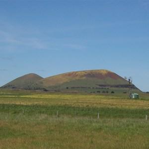 Mount Elephant - West side. Date 20.10.2010