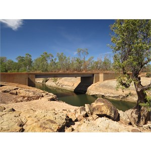 Gibb River road bridging Lennard river