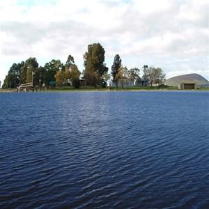 Deep Lake 4.5kms from Derrinallum, Victoria 3325