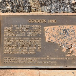 Goyders Line Memorial Rest Area